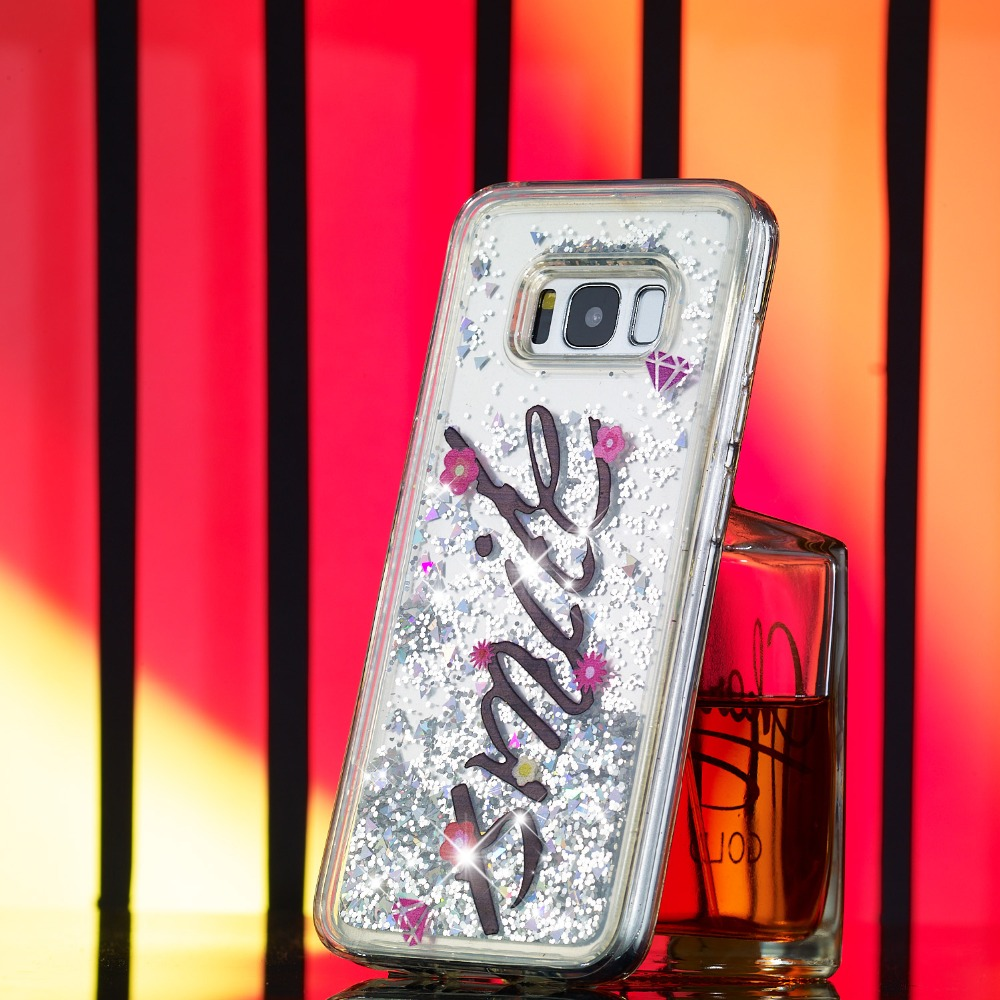 Case For Galaxy S5 S6 S7 S8 S6 S7 Edge Quicksand Dynamic Liquid Pattern Case For Samsung Galaxy A3 A5 J2 J3 J5 J7 Back Cover