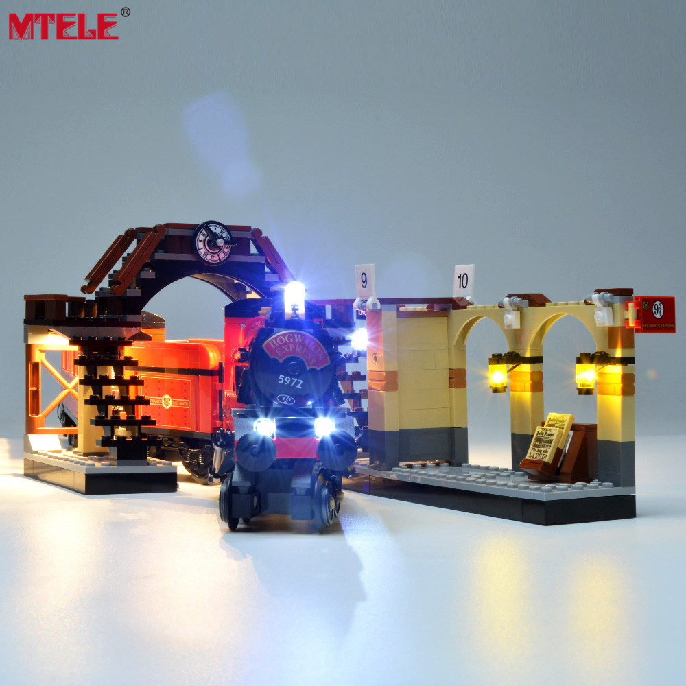 MTELE Brand LED Light Up Kit Toy For Hogwarts Express Lighting Set Compatile With 75955 (NOT Include The Model)