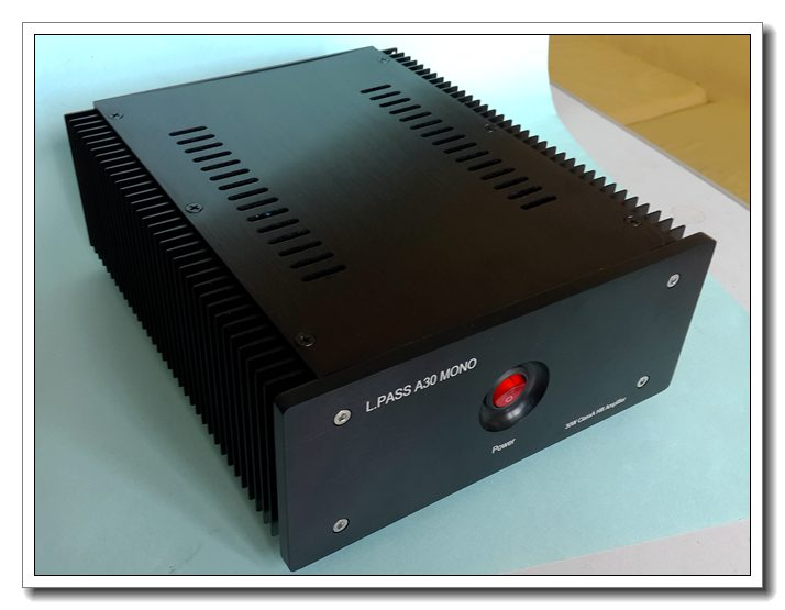 цена на L.Pass A30 Mos FET, Single end pure class a 30W power amplifier, amplifiers audio hifi, Single channel hifi amplifier