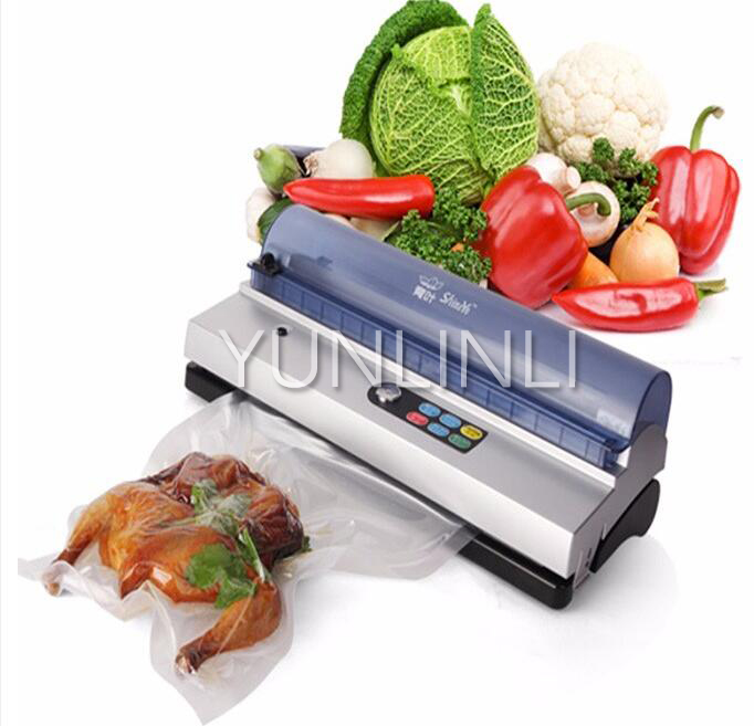 Automatic Vacuum Food Sealer Small Commercial Vacuum Packaging Machine Household Vacuum Sealer DZ-320D cinderella and other stories