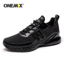 Onemix Летняя мужская обувь для бега дышащие сетчатые Прогулочные