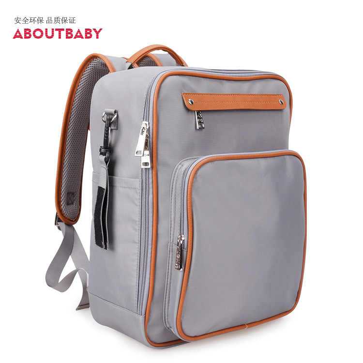 New Waterproof Baby Diaper Bag Large Baby Nappy Bag Backpack Maternity Bags Baby Care Changing Bag for Stroller Baby Care baby dining lunch feeding booster seat maternity baby diaper nappy bag multifunction fashion hobos messenger bags for baby care