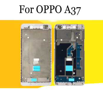 OPPO A37 Original LCD Holder Screen Front Frame Housing Case middle Frame For OPPO A 37 Repair Spare Parts OPPOA37