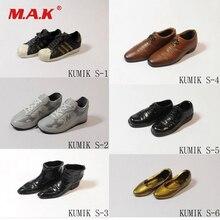 Kumik Model 1/6 Scale Figure Toys Shoes Short Boots For 12