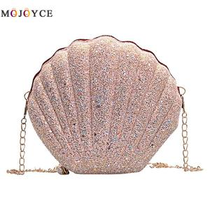 Cute Sequins Small Shell Bag S