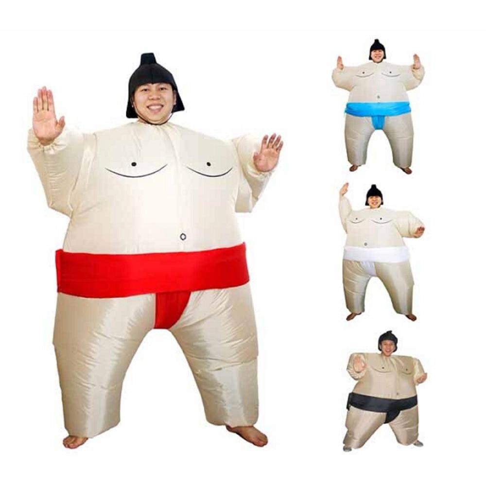 e0841f49d092cd Dorosłych, jak i dla dzieci dmuchane Sumo garnitury bat dziewczyna kostium  Airblown Sumo zostało uruchomione Cosplay Halloween w Dorosłych, jak i dla  dzieci ...
