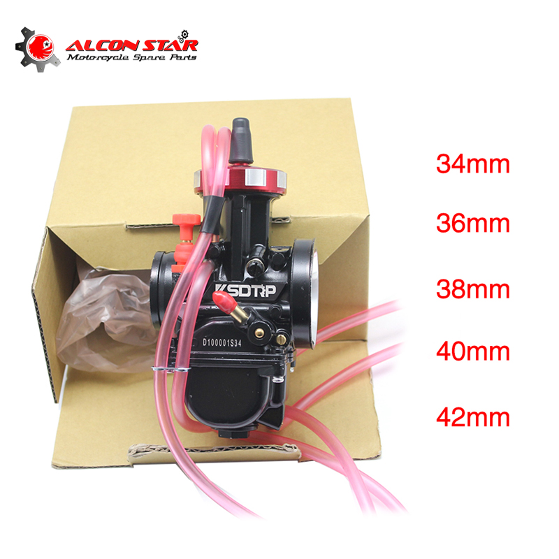 Alconstar With Air Striker PWK 34mm 36mm 38mm 40mm 42mm Black Carburetor Motorcycle RACING PARTS Scooter