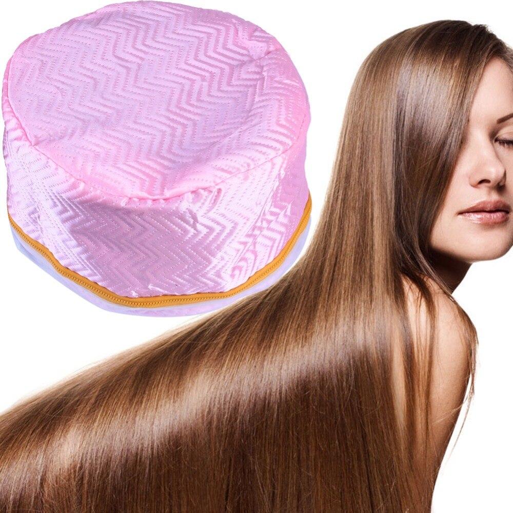 Eléctrico SPA pelo cuidado tapa pelo térmico tratamiento belleza vaporera de seguridad calefacción eléctrica de cabello nutritiva secadores de pelo