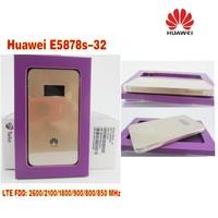 Huawei E5878s 32 4g lte unlock wifi router E5878 lte 4g 3g dongle 150Mbps FDD 4g lte MiFi mobile router