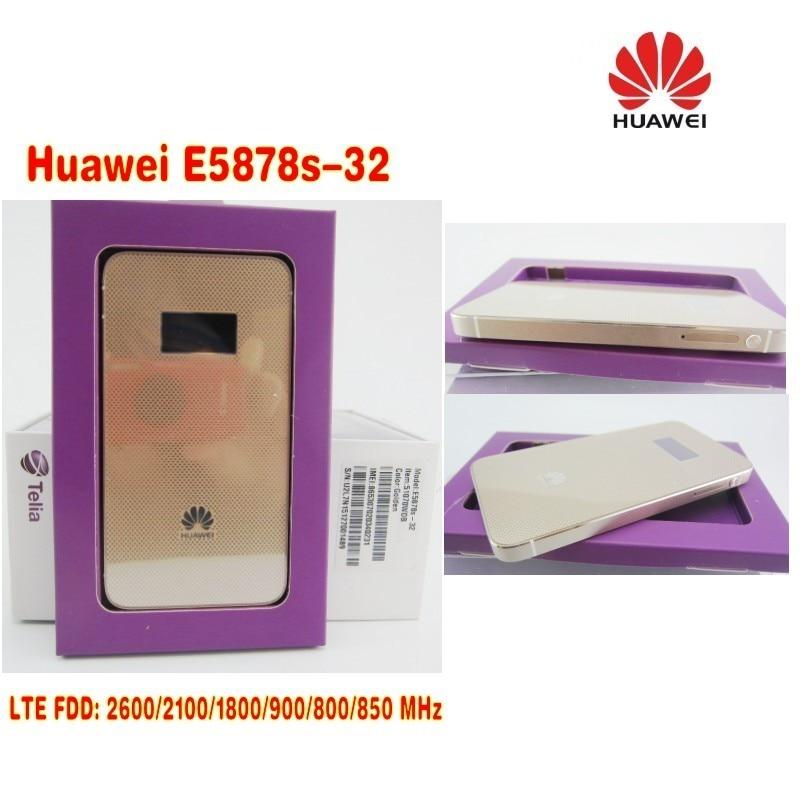 Huawei E5878s-32 4g lte unlock wifi router E5878 lte 4g 3g dongle 150Mbps FDD 4g lte MiFi mobile router
