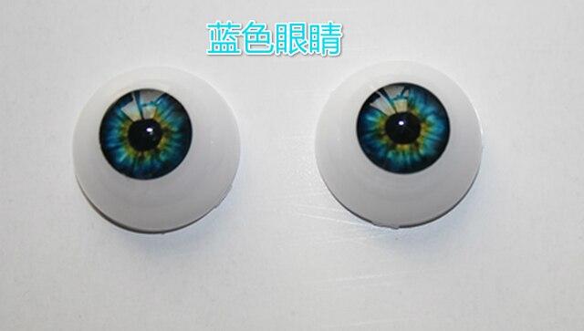 DIY моделирование глаз аксессуары Акриловые глаза Reborn baby doll глаза синий коричневый зеленый