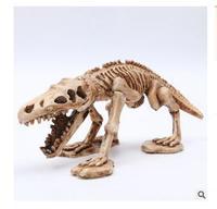 wholesale factory Aquarium landscaping decoration landscape dinosaur skeleton resin skull reptile escape handicrafts goods