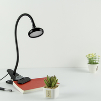 Led Table Lamp Clamp Study Lamp Night Light Dimmable Bendable Eye Protection Lampara Led Desk Lamp