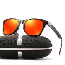 TR90 Retro Vintage Classic Ultralight Polarized Sunglasses Custom Made Myopia Minus Prescription Lens -1 To-6