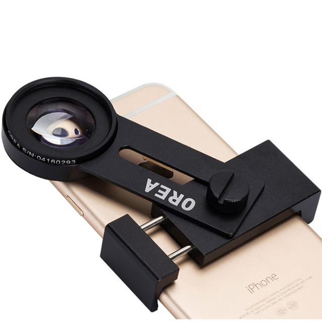 SY5 macro 12.5x Zoom Len Rodada lente da câmera do telefone de alta definição lente de focalização + clipe de volta + foto tripé universal clipe