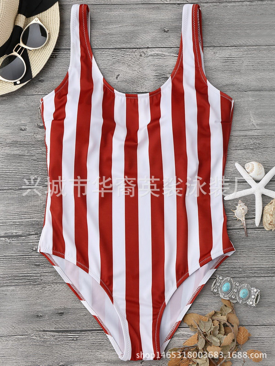 Striped Swimsuit Beachwear Monokini Sexy Women Or by 200pcs Dhl Ems
