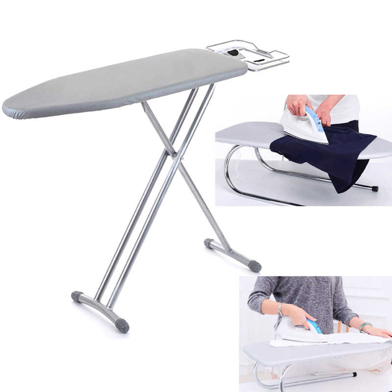 Home Universal silver coated  Padded Ironing Board Cover Heavy Heat Reflective Scorch Resistant 2 Style