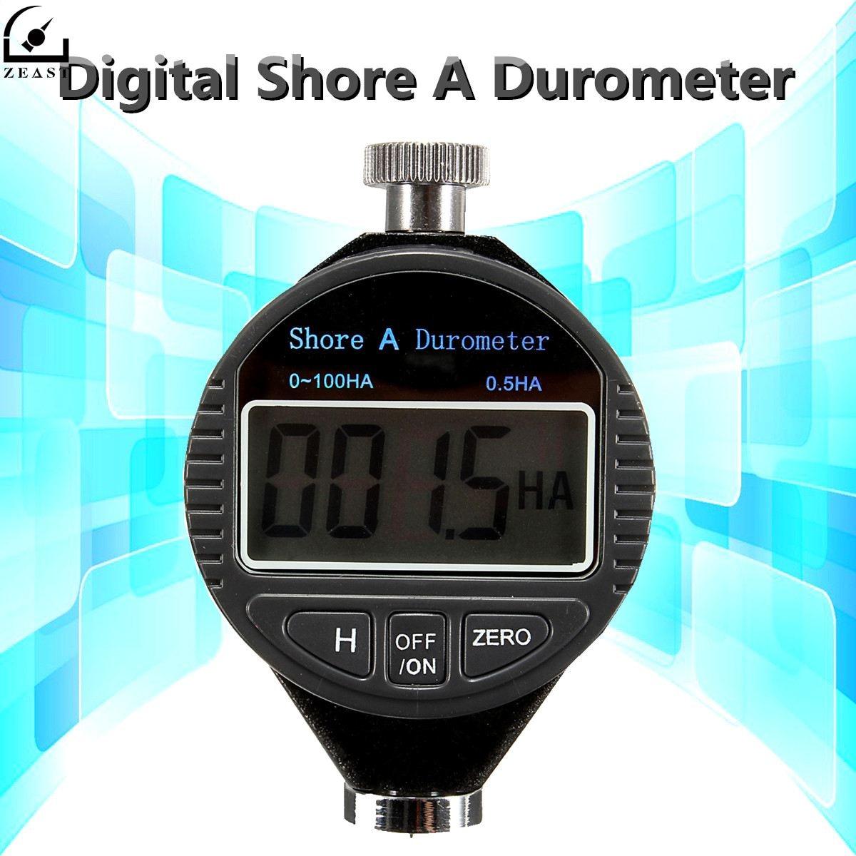 Härteprüfer 0 ~ 100ha Digitale Shore Durometer Tester Reifen Gummi Lcd Display Meter
