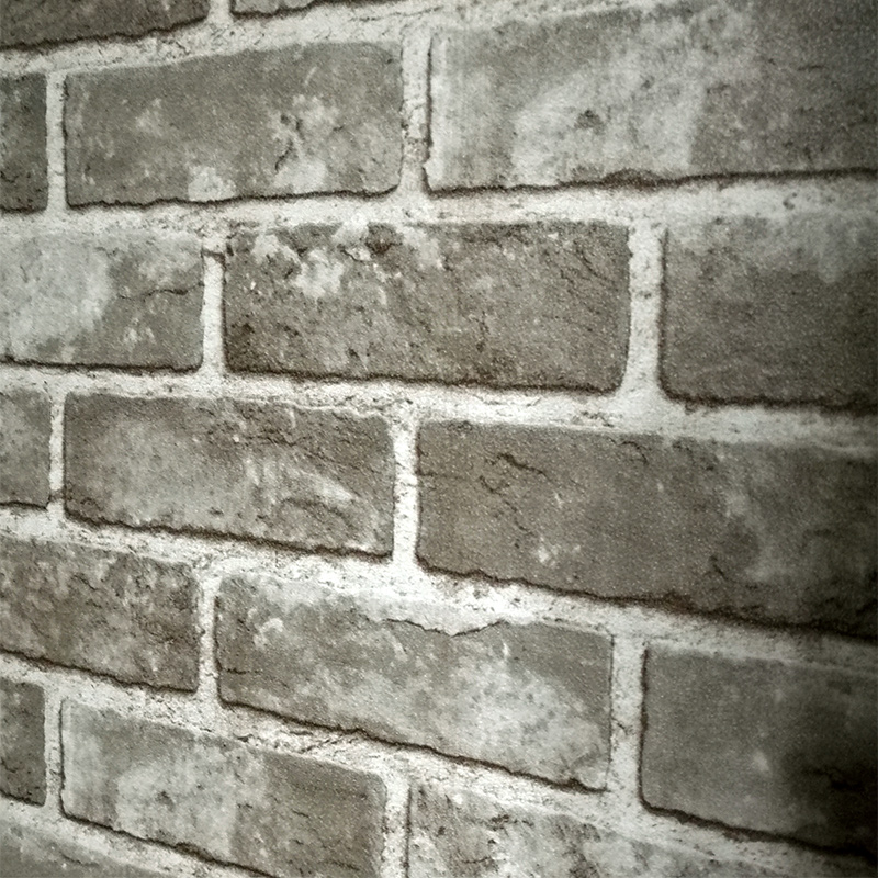 3D Stereoscopic PVC Embossed Stone Brick Wallpaper Vintage Chinese Style Living Room Kitchen Restaurant Wall Decor Wallpaper 3 D rustic brick wall wallpaper chinese style vintage wallcoverings home decor warm color for living room bright room ornament
