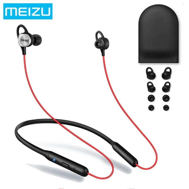 Оригинал Meizu EP52 Беспроводной Bluetooth 4,1 спортивные наушники стерео гарнитура Водонепроницаемый IPX5 с микрофоном поддержку Apt-X 8 часов play
