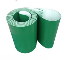 3000x200x3mm  Green Industrial Transmission Line Belt Conveyor PVC