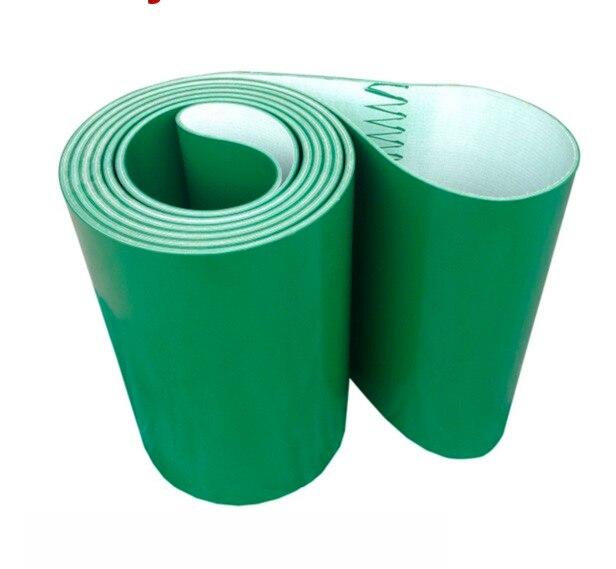 3000x200x3mm vert industriel ligne de Transmission convoyeur à bande PVC ceinture