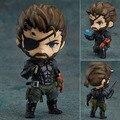 """Frete Grátis Bonito 4 """"Nendoroid Metal Gear Solid V Veneno de Serpente Encaixotado 10 cm PVC Acton Figura Modelo Coleção Toy Boneca de Presente #565"""