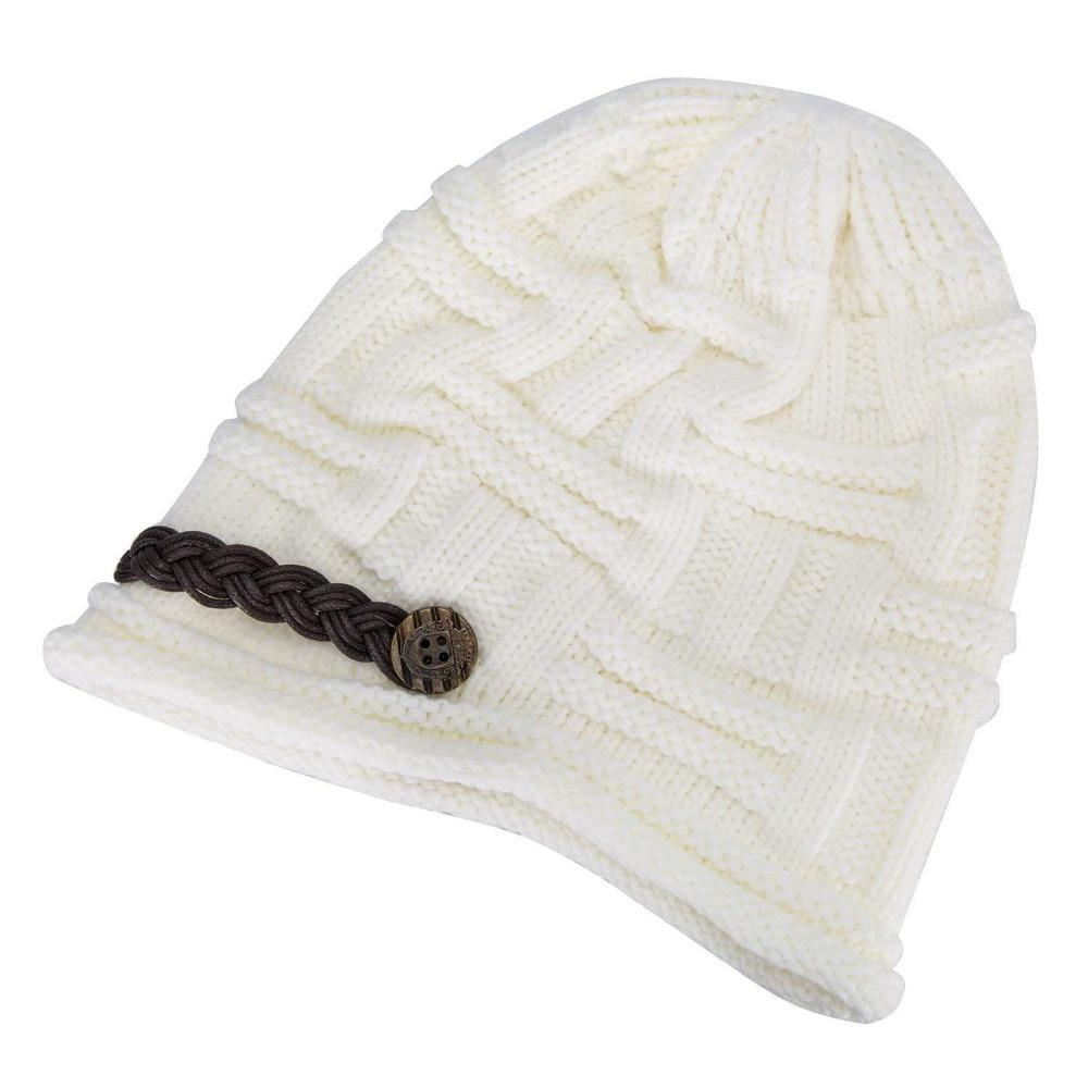 Compre Gorro De Invierno Para Mujer Sombreros Cableado Patrón De ...