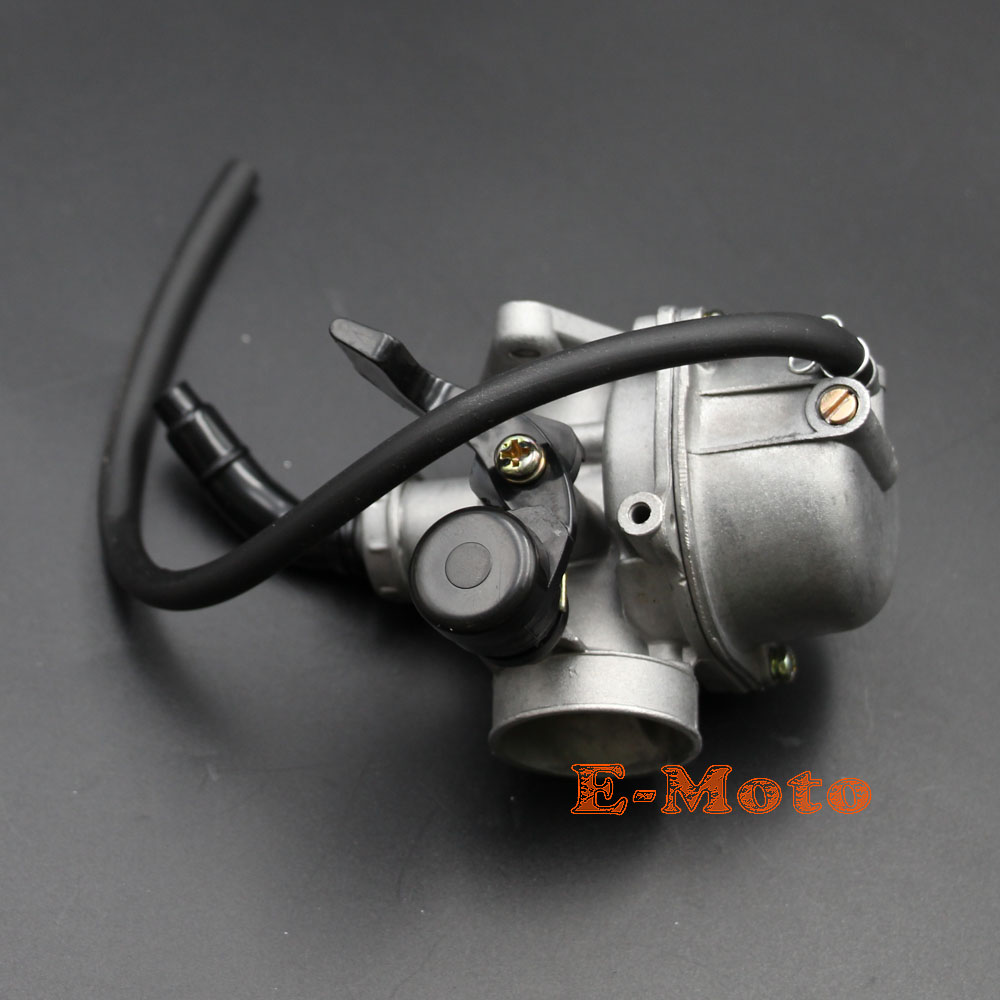 hight resolution of brand new 19mm carburetor assembly with air fuel filter fule tube for 50cc 70cc 90cc 110cc 4 stroke chinese atv dirt pit bike go kart