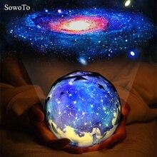 """Фон для детских фото в стиле творческий для малышей и детей постарше ночной Светильник волшебный прожектор """"Планета"""" Вселенная лампа светодиодный музыкальный Ротари мигающий Звездный проектор Xmas"""
