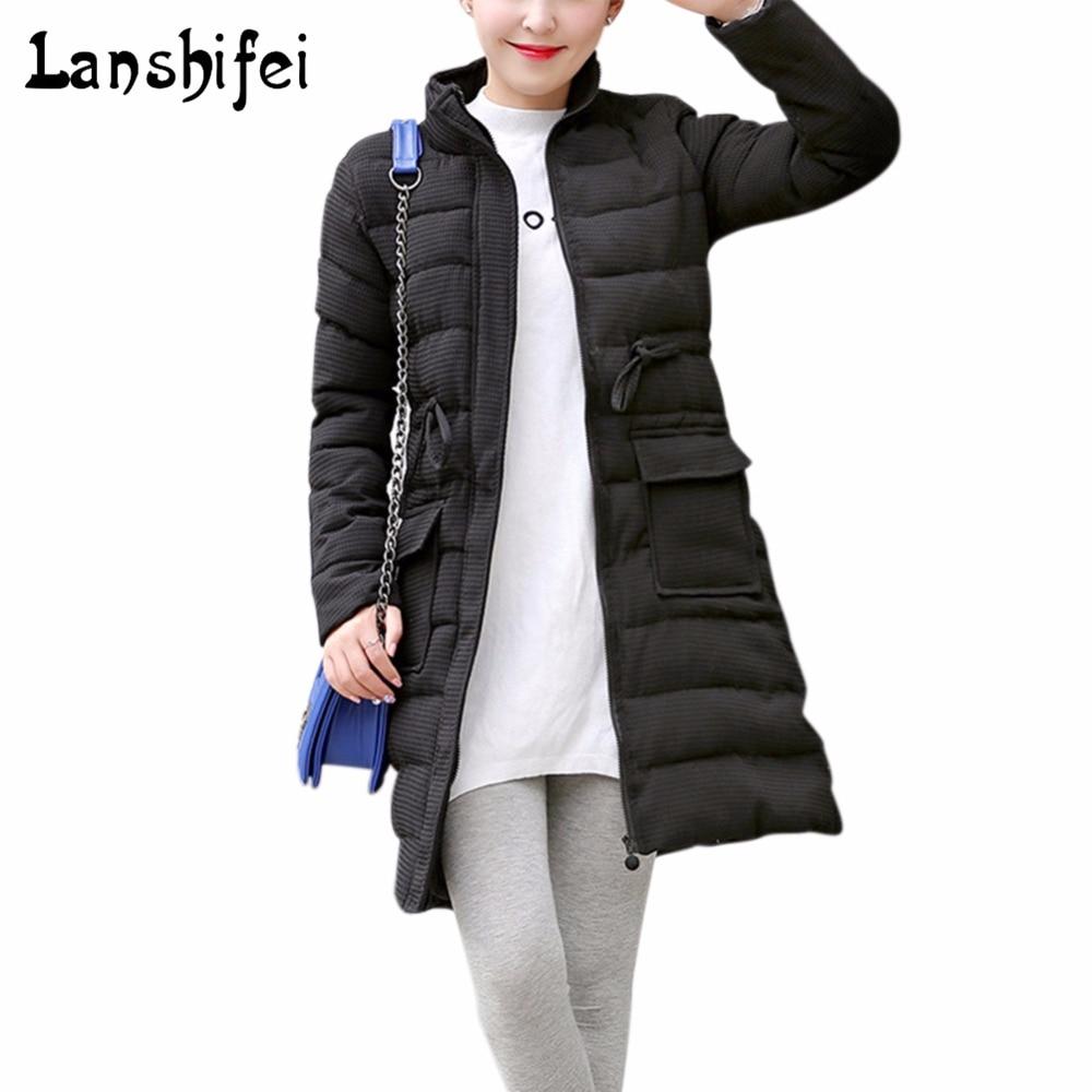 New Winter Jacket Women Cotton Long Coat 2017 Slim Padded Parkas Outwear Black Gray High Quality Warm Chaquetas Casual Parkas dell inspiron 3542 core i3 4005u 4gb 500gb 15 6 cam linux black