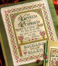 Fishxx Punto croce Col144 2 fiori [Melody of Love] 14ct kit