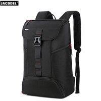 Jacodel Business Backpack Men 17 Inch Laptop Backpack Bag Large Mochila Triple Unisex Waterproof Antitheft Travel Men Backpack