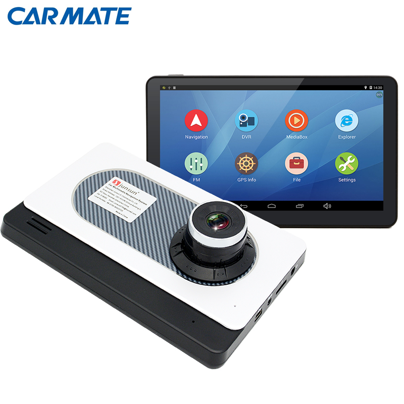 New 7 inch Car font b GPS b font Navigation Android 4 4 DVR Camera Bluetooth