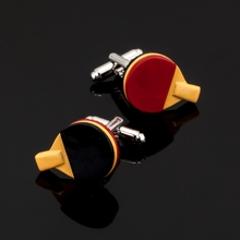 XK434 High high quality French Cufflinks athletes desk tennis males's shirts cufflinks, marriage ceremony equipment / wholesale / retail /