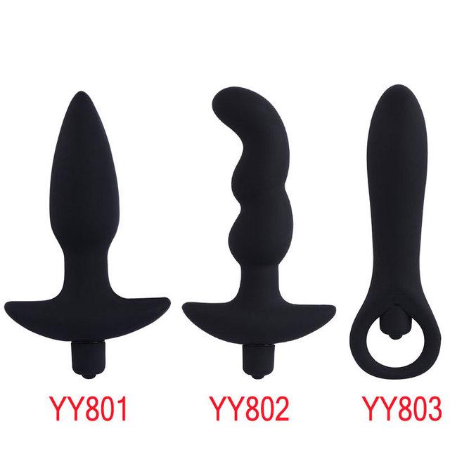 Anal Plug Vibrator Sex Toys for Men Women Gay