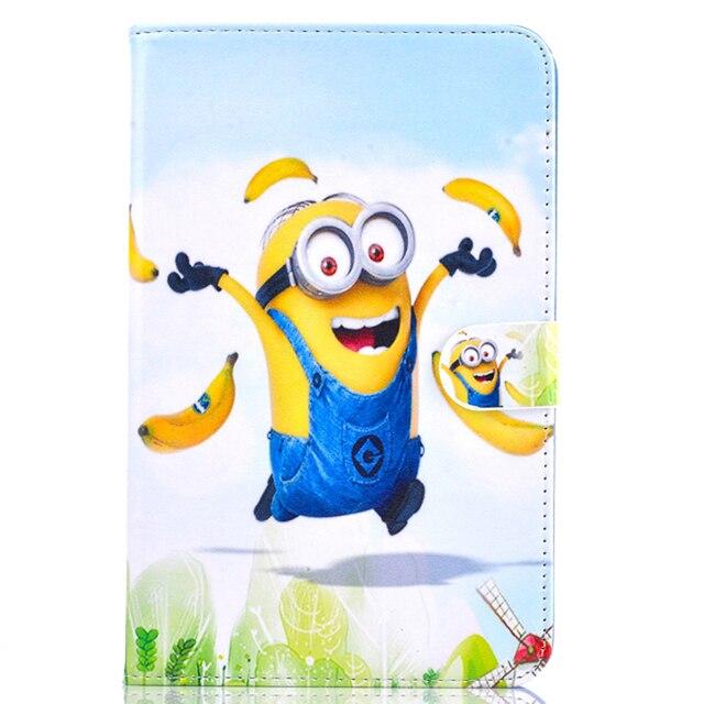 Case For Samsung Galaxy Tab 3 Lite 7.0 T110 T111 T115 case minions ...