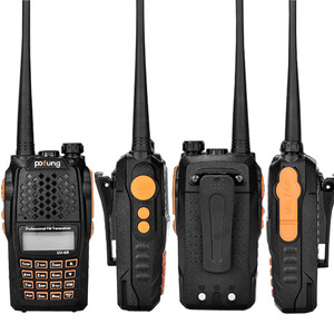 Image 5 - Baofeng UV 6R لاسلكي تخاطب 5 واط راديو UHF VHF ثنائي النطاق UV 6R CB راديو ترقية من UV 5R Baofeng تخاطب HF الإرسال والاستقبال للصيد