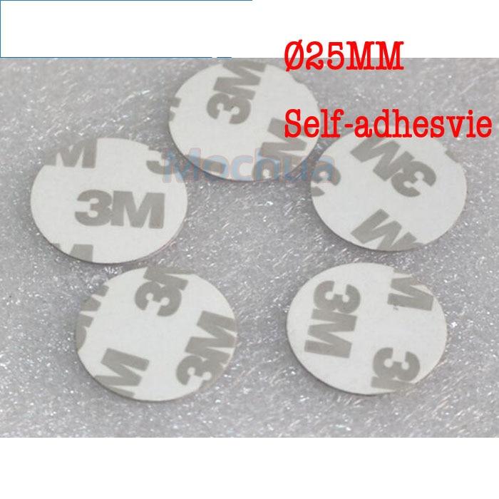 13.56MHz NFC Ntag215 Tag NTAG215 Disc Tag PVC With Self-adhesive For Tagmo