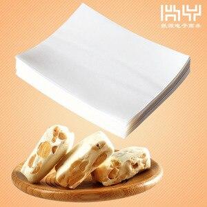 Image 3 - 500 枚ヌガー包装紙食用もち米紙ベーキングキャンディー紙キャンディ透明もち米紙