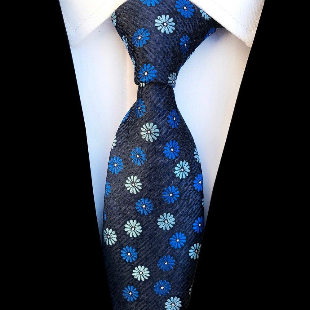 37ebd7fa097f Ricnais New Design Floral Paisley Silk Tie for Men Striped Blue Green  Necktie for Wedding Fashion Gradient 8cm Tie Suit Party-in Men's Ties &  Handkerchiefs ...