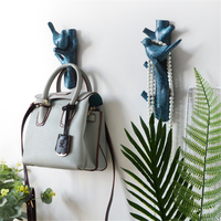 American Country Style Creative Pine Cone Decoration Coat Hook Resin Wall Wall Hook Bathroom Coat Hook