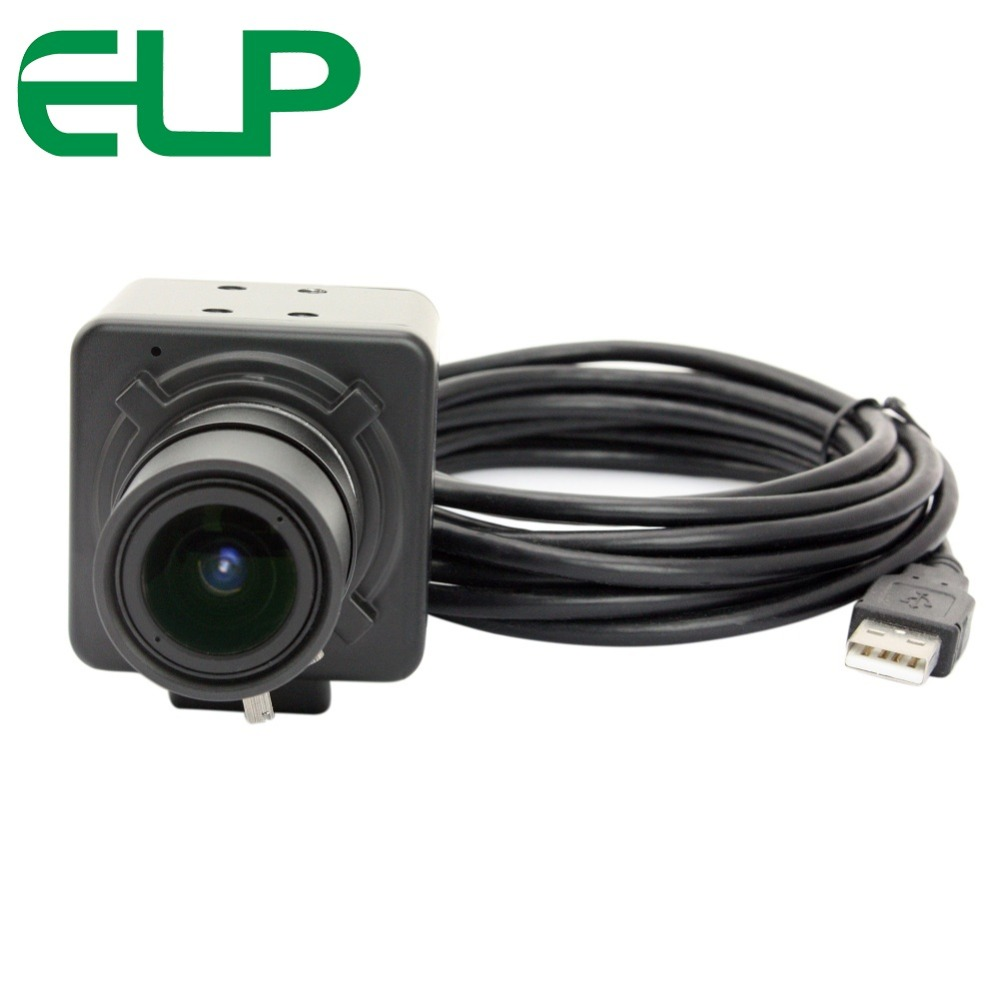 ELP Free driver High resolution HD 5MP CMOS OV5640 5-50mm Manual Varifocal Mini Box 5MP USB Camera for Android Linux Windows elp 5mp 60 degree autofocus usb camera with ov5640 cmos sensor for linux android mac windows pc webcam machine vision camera