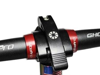Nuevo Litepro manubrio fijo anillo BMX Hedatube bloqueo Cruz anillos cabeza tubo 25,4 Mm DH plegable bicicleta actualización modificada