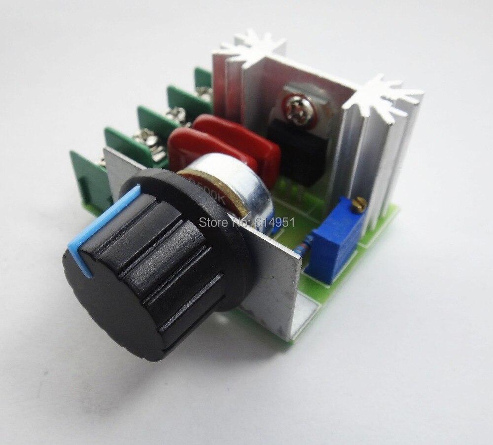 Daya Tinggi 2000 W Scr Voltage Regulator Kecepatan Dimmer Pengontrol 2000w Motor Speed Suhu Pemanas 100 Asli Chip Di Controller Dari Perbaikan Rumah Aliexpresscom Alibaba