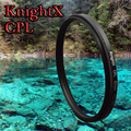 KnightX 49-77 ММ CPL Объектив Фильтр Аксессуары для NIKON d3100 d5300 d5500d 750 700d d70 d90 canon 1200d nd sony nex sony a57