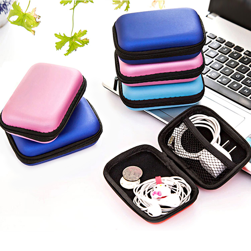 Travel Accessories Bag Data Cable Digital Storage Package Electronic Accessories Digital Gadget Devices Portable Headset Bag
