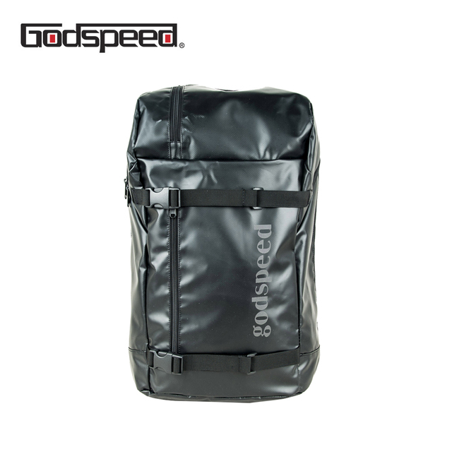 Godspeed waterproof travel backpack tarpaulin back breathable unisex travel backpack with padded laptop pocket dry bag 2018 new