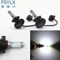 Car LED Headlight 5202 H16 EU PSX24 JP Led PLug Play All In One 50w 6000K