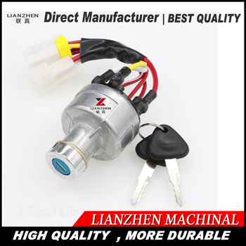 Engine parts racing ignition switch for VOLVO excavator spare parts